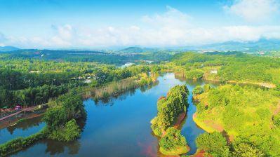 龙岩武平统筹实施山水林田湖整治打造绿色生态会客厅